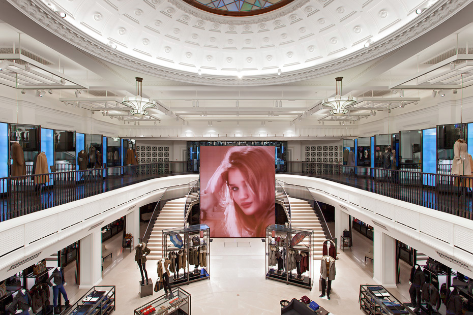 Photograph of Regent Street Burberry Store