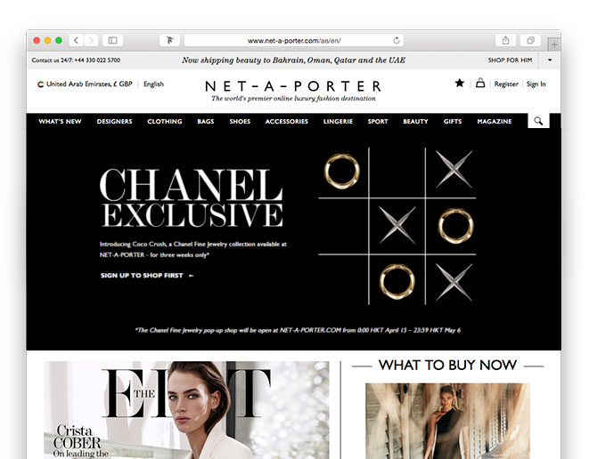 5aa8514e97cb Net-a-Porter announced a groundbreaking partnership with Chanel to launch  the new Chanel fine jewelry collection. A special digital pop-up store on  the ...